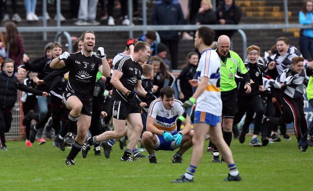 Omagh celebrate winning