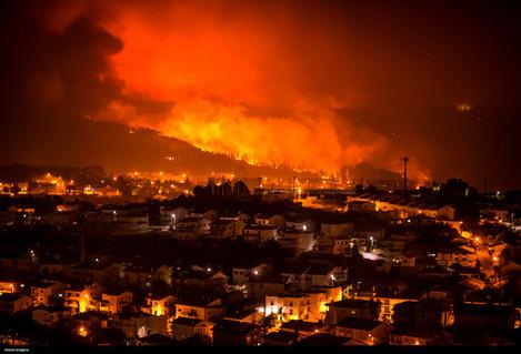 Portugal: Braga Fires