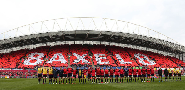 Munster Rugby v Glasgow Warriors - European Champions Cup - Pool One - Thomond Park