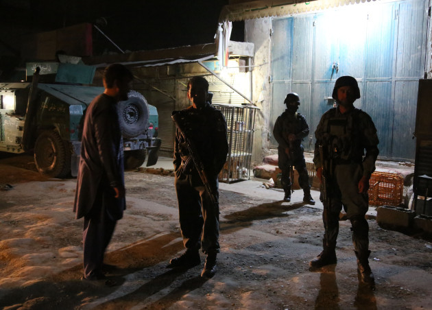 AFGHANISTAN-KABUL-MOSQUE-SUICIDE ATTACK