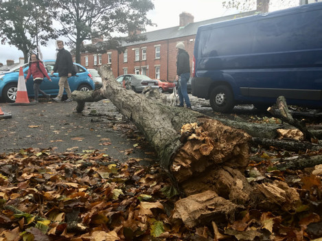 21/10/2017. Storm Brian Coming To Ireland