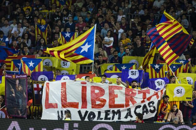 Spain: Barcelona v Malaga - La Liga