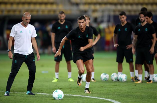 Real Madrid Training Session - Philip II Arena