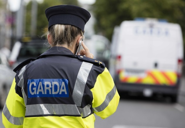 File Photo Budget 2018. Additional 800 gardaí to be recruited during 2018. Another 500 civilians to be hired also. End.