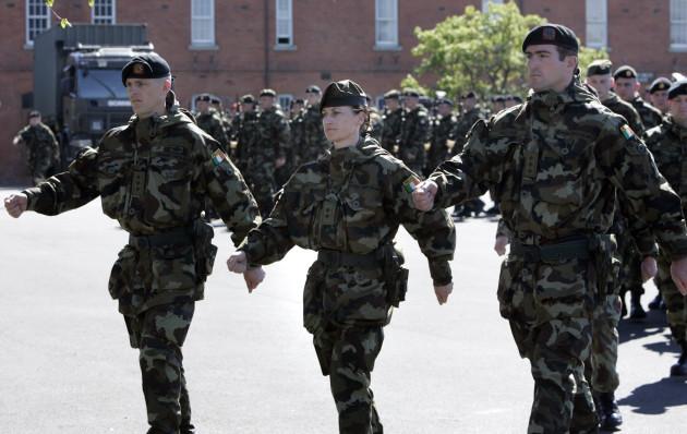 Irish Army Delployed to Golan Heights