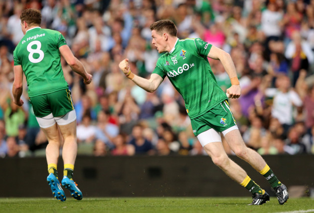 Conor McManus celebrates
