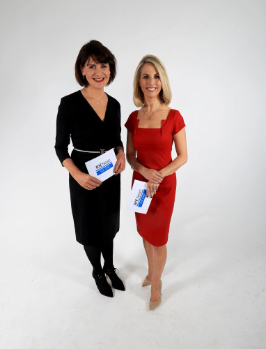RTE Six One News - Keelin Shanley and Caitriona Perry 1