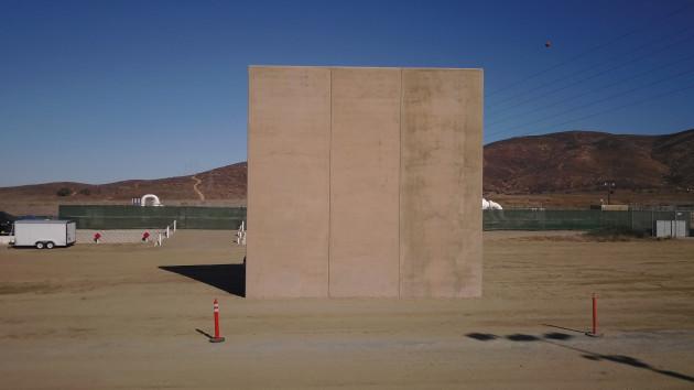 US Mexico Border Wall Prototypes Displayed