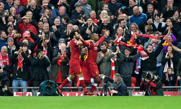 Liverpool v Huddersfield Town - Premier League - Anfield