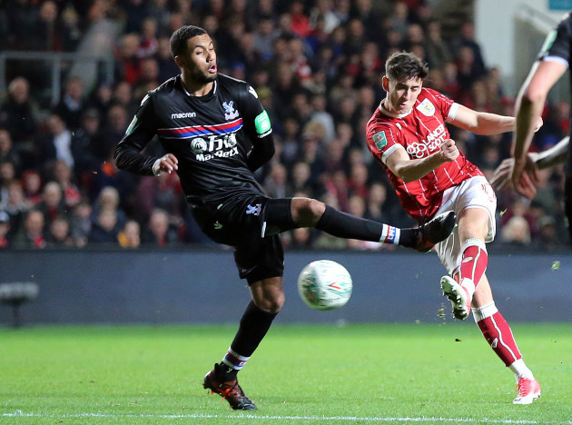 Bristol City v Crystal Palace - Carabao Cup - Fourth Round - Ashton Gate