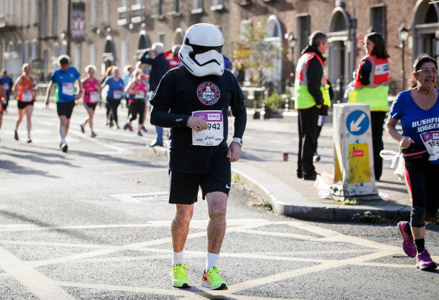 A runner during The SSE Airtricity Dublin Marathon