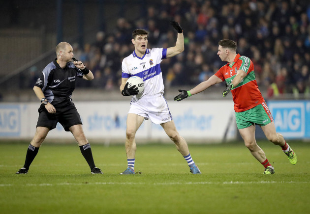 Diarmuid Connolly with Philly McMahon