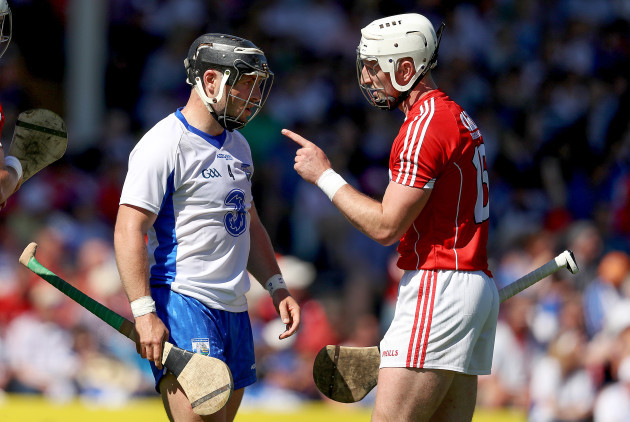 Patrick Horgan with Noel Connors