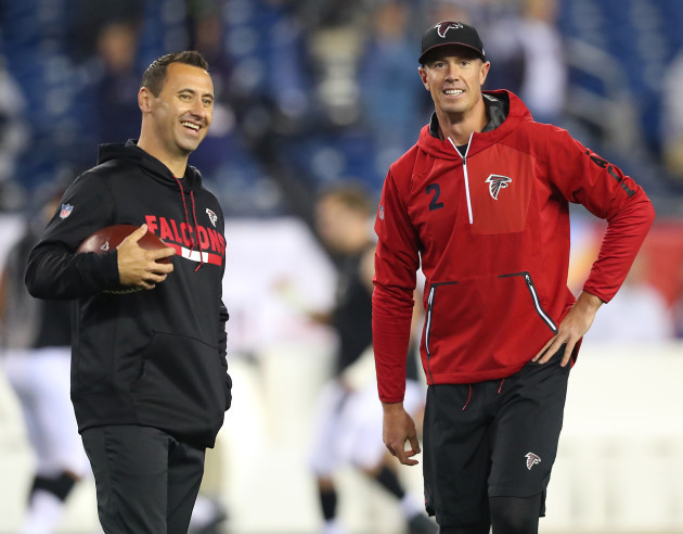 Atlanta Falcons vs. New England Patriots