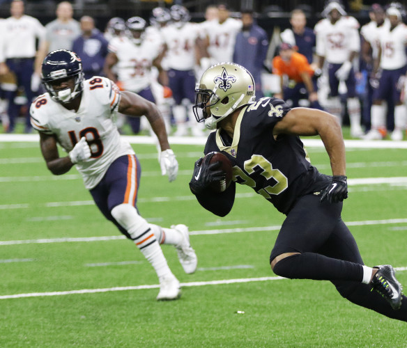 NFL CHICAGO BEARS AT NEW ORLEANS SAINTS