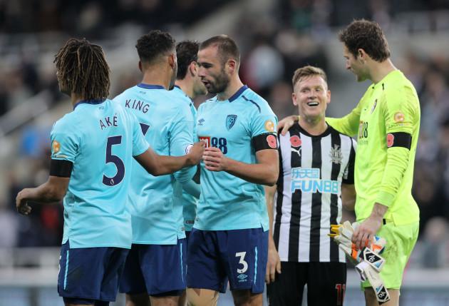 Newcastle United v Bournemouth - Premier League - St James' Park