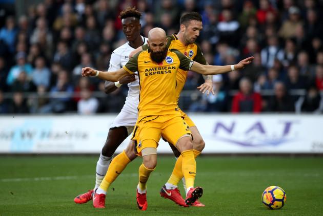 Swansea City v Brighton and Hove Albion - Premier League - Liberty Stadium