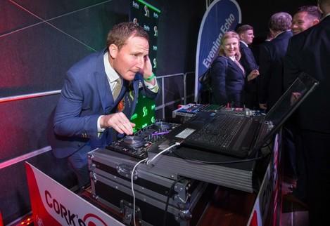 Achille Campion on the DJ decks