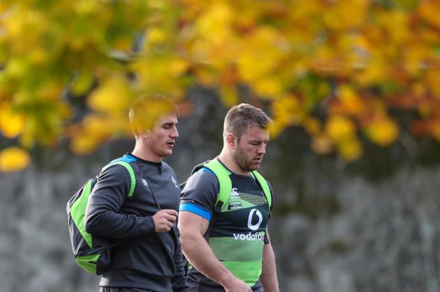 Ian Keatley and Sean O'Brien