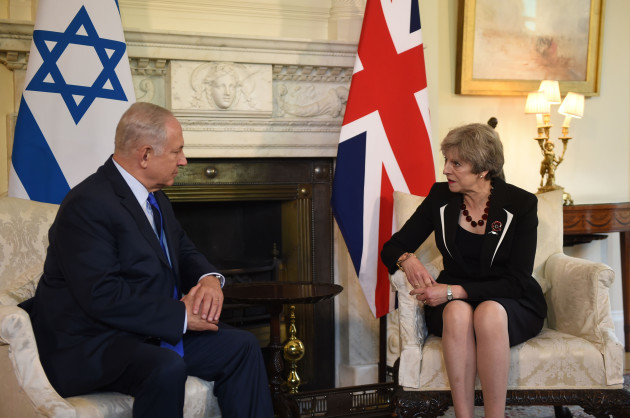 Benjamin Netanyahu visit to UK