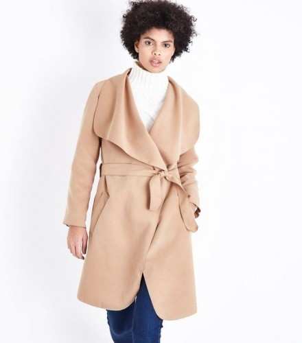 parisian-camel-oversized-waterfall-belted-coat