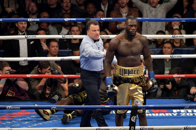 Boxing 2017 - Deontay Wilder Defeats Bermane Stiverne by 1st Round TKO
