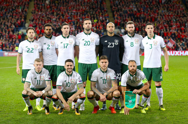 Wales v Republic of Ireland - 2018 FIFA World Cup Qualifying - Group D - Cardiff City Stadium
