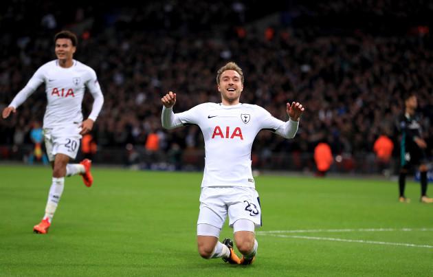 Tottenham Hotspur v Real Madrid - UEFA Champions League - Group H - Wembley Stadium