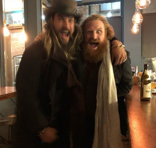 The Photos Of Jason Momoa On The Session With The Game Of