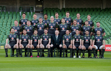 Ireland Rugby team photo