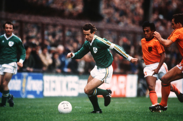 Soccer - European Championship Qualifier - Group Seven - Ireland v Holland