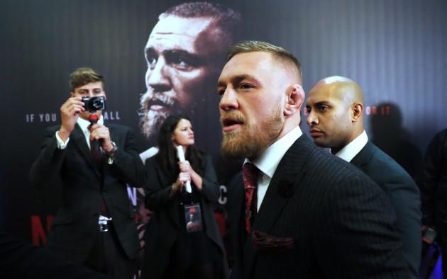 Conor McGregor: Notorious World Premiere - Savoy Cinema