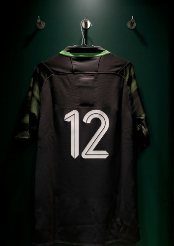A view of Bundee Aki's jersey in the dressing room