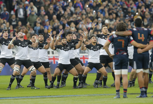 France New Zealand Rugby
