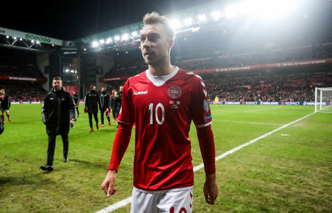 Christian Eriksen after the game