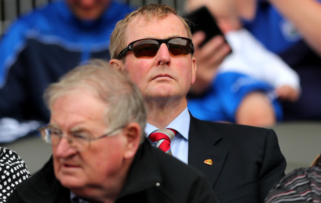 Enda Kenny at the game