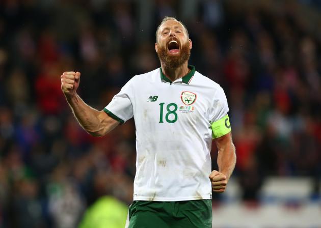 United Kingdom: Wales v Republic of Ireland - FIFA 2018 World Cup Qualifier