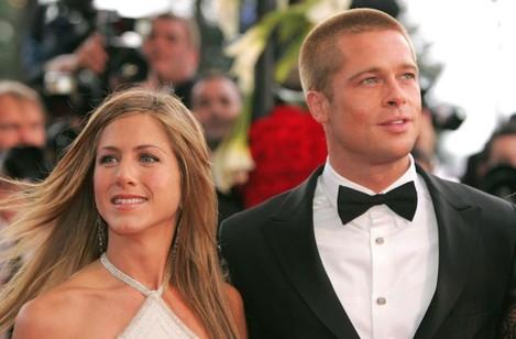 ABACA Brad Pitt and Jennifer Aniston 57th Cannes Film Festival
