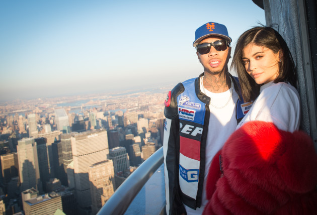 Kylie Jenner and Tyga visit the Empire State Building on Valentine's Day