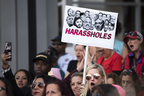 CA: March Supporting Sexual Assault Victims Held In Los Angeles