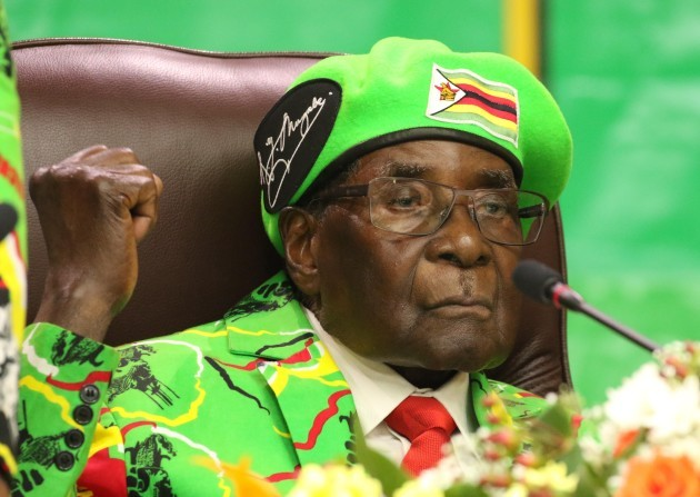 ZIMBABWE-HARARE-PRESIDENT-CABINET-RESHUFFLE