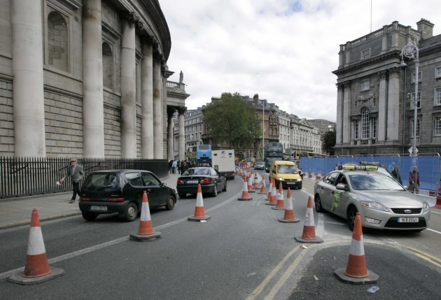 File Photo The proposal to remodel College Green as a pedestrian – priority plaza is a Dublin City Council and National Transport Authority initiative