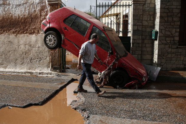 GREECE-ATHENS-FLOODING
