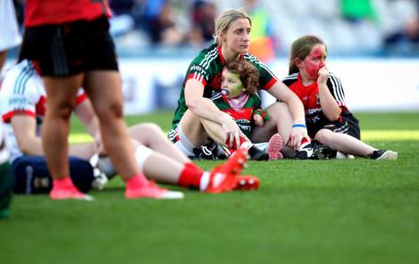 Cora Staunton dejected