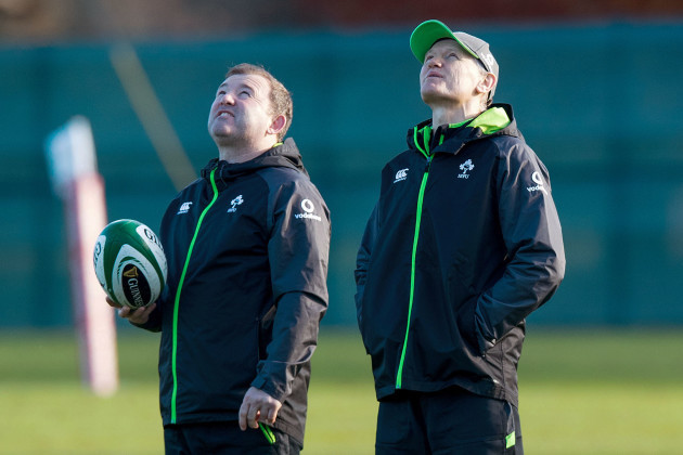Richie Murphy and Joe Schmidt