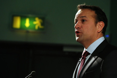 Leo Varadkar attends launch of Future of Europe