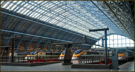 channel tunnel st pancras train station london credit loco steve flickr