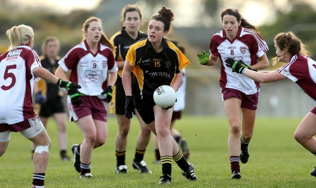 Doireann O'Sullivan on the attack