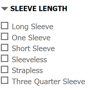 sleeve length