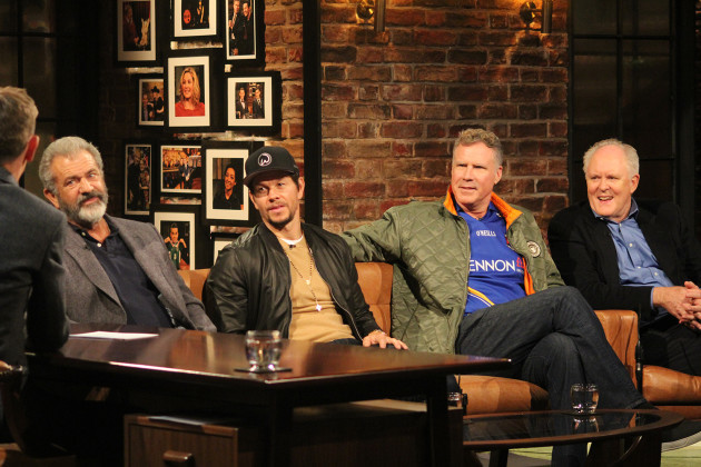 The Late Late Show - Mel Gibson, Mark Wahlberg, Will Ferrell and John Lithgow 2
